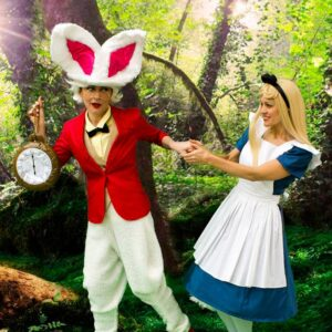White Rabbit & Alice Party
