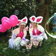 Easter Egg Hunt Bunny Duo