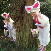 Bunny Easter Egg Hunt Leaders