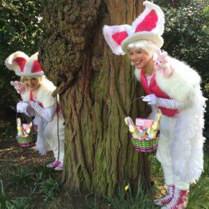 Bunny Easter Egg Hunt Leaders