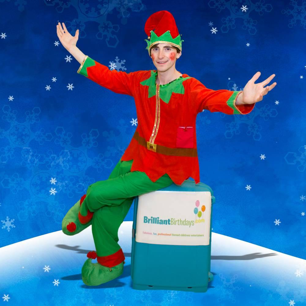 Eddie The Christmas Elf Kid's Party London