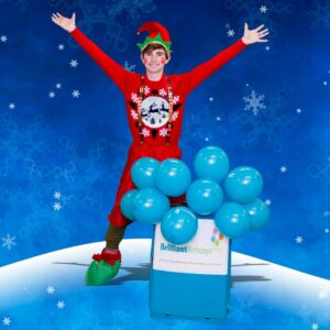 Christmas Elf Themed Party Entertainer London