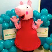 Peppa Pig Mascot Lookalike