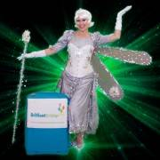 Silver Fairy Themed Party Entertainer London