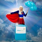 Supergirl Themed Party Entertainer London