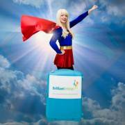Supergirl Kid's Entertainer London