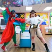 Jungle Ranger & Parrot Duo Party London