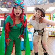 Jungle Ranger And Parrot Party London