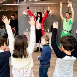 Captain Hook & Peter Pan Kids Party Entertainers