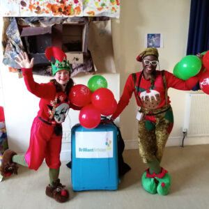 Christmas Elf Duo party Hosts London