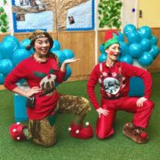 Christmas Elf Duo Party Entertainers