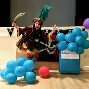 Pirate Themed Kids Party