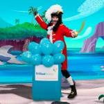 Captain Hook lookalike party Event Entertainment
