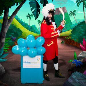 Captain Hook Children's Party London