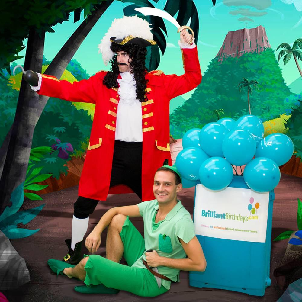 Captain Hook & Peter Pan Lookalike Party
