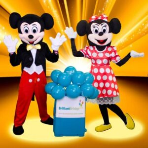 Mickey-&-Minnie-Mascot Party