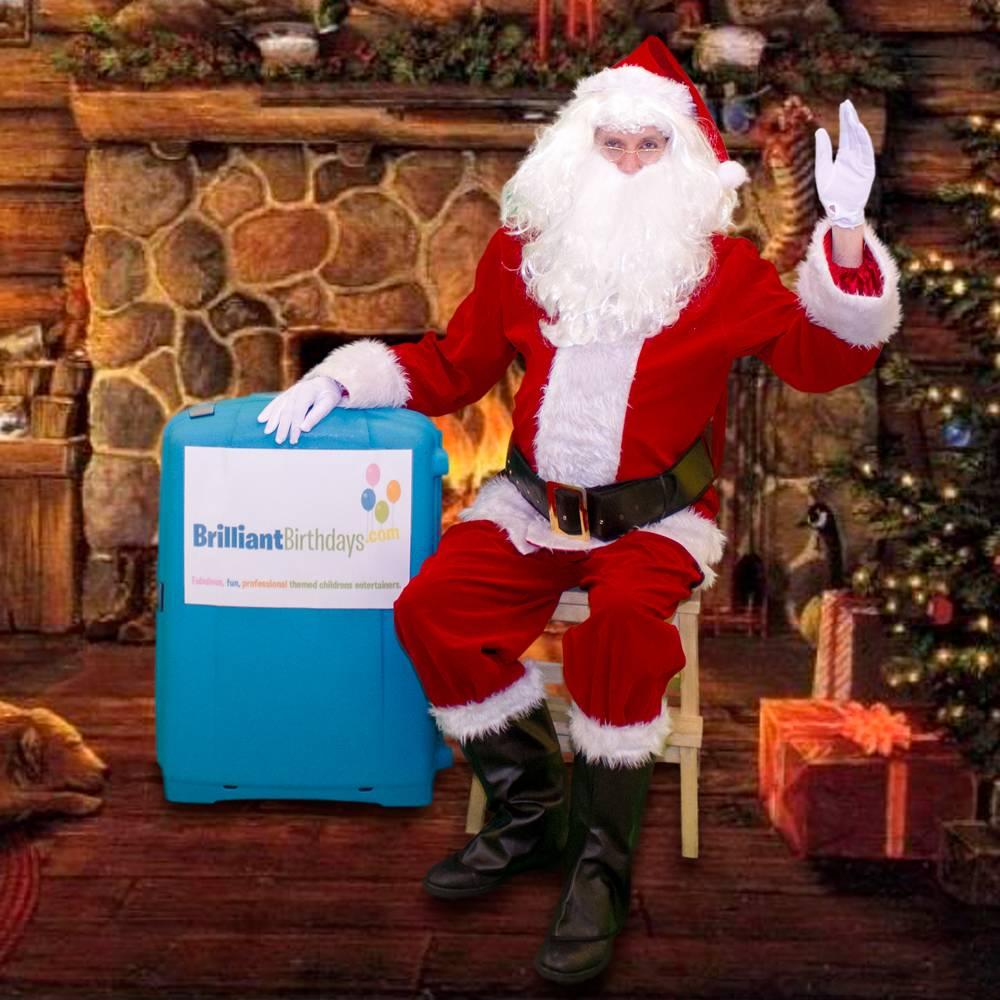 Santa claus meet greet brilliant birthdays