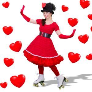 Valentine's Day Roller Skaters - A1 - LR