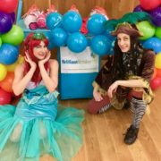 Mermaid & Pirate Children's Entertainment