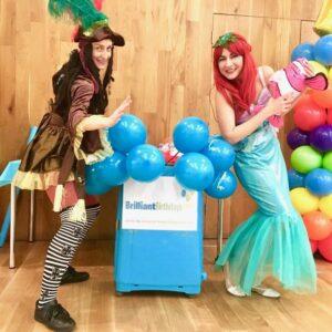 Mermaid & Pirate Children's Entertainment London