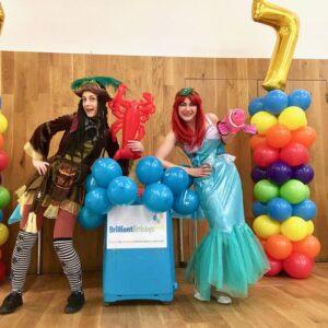 Pirate and Mermaid Kids Entertainment London