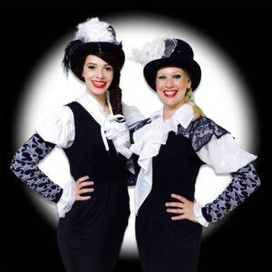 Black & White Clown Balloon Modellers