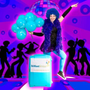 Disco Themed Party Entertainer London