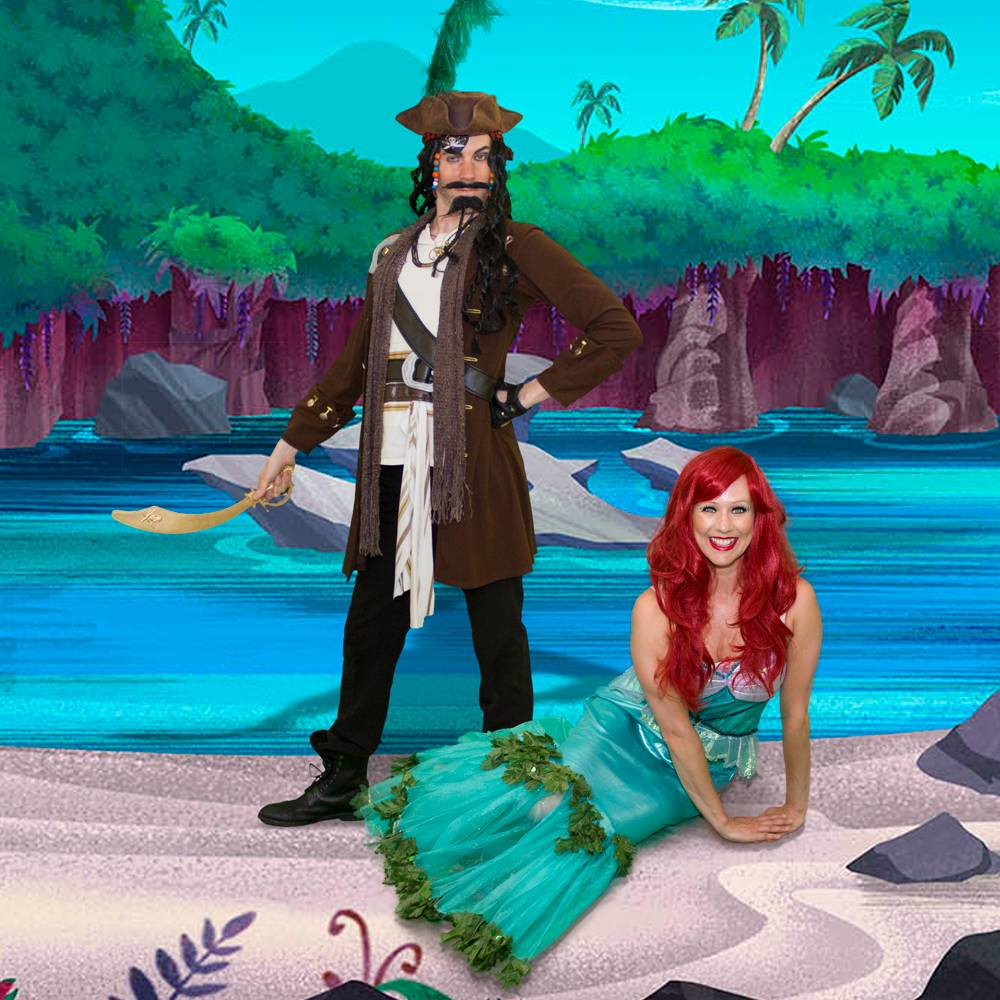 Perilous Pirate & Mermaid