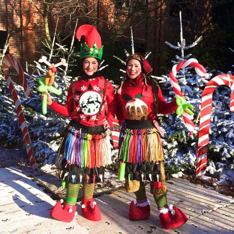 Christmas Elf Balloon Modellers