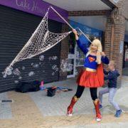 Supergirl Bubble Fun