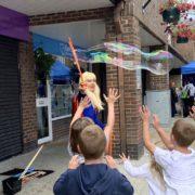 Supergirl Bubble Fun London
