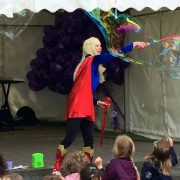 bubble fun characters available to hire in London great children's entertainers
