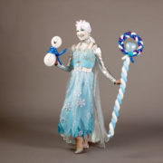 Ice Queen Balloon Modelling