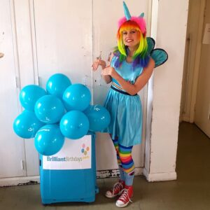 Rainbow Unicorn Party Host London