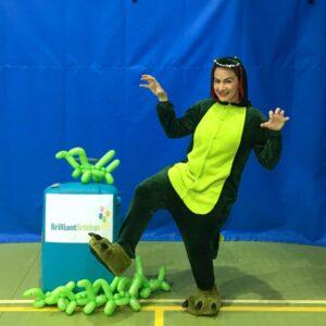 Dinosaur Kids Party Host London