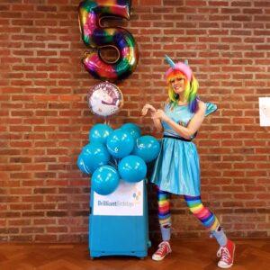 Rainbow Unicorn Party Entertainment
