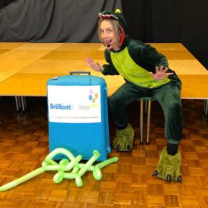 Dinosaur Party Host London