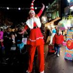 Stilt Walking Miss Santa Entertainer