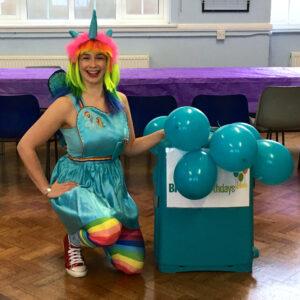 Rainbow Unicorn Party Host London