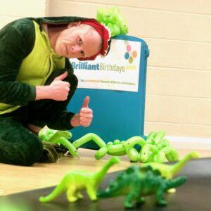 Dinosaur kid's Party Host