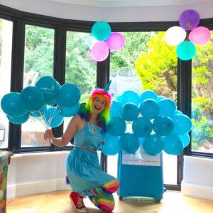 Rainbow Unicorn Kids Party