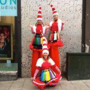 Miss Santa Stiltwalking Entertainment