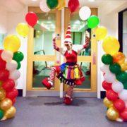 Miss Santa Balloon Modeller London
