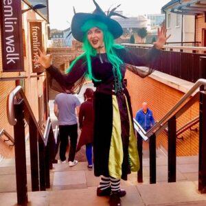 Halloween Trick Or Treat Trail Host