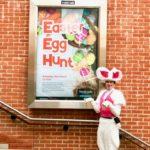 Easter Egg Hunt leader