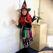 Amber Witch Balloon Modeller London