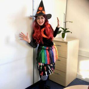 Amber Witch Balloon Modeller London