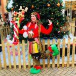 Christmas Elf Balloon Modelling