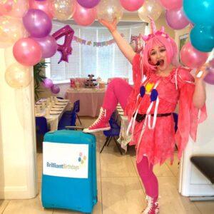 Pink Unicorn Kids Party