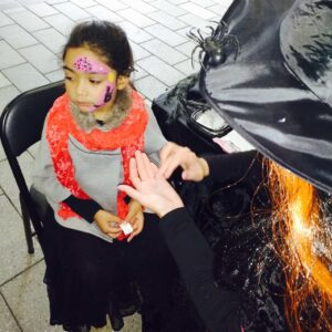 Halloween Themed Face Painting